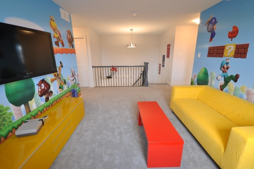 Winchester Homes Playroom Area