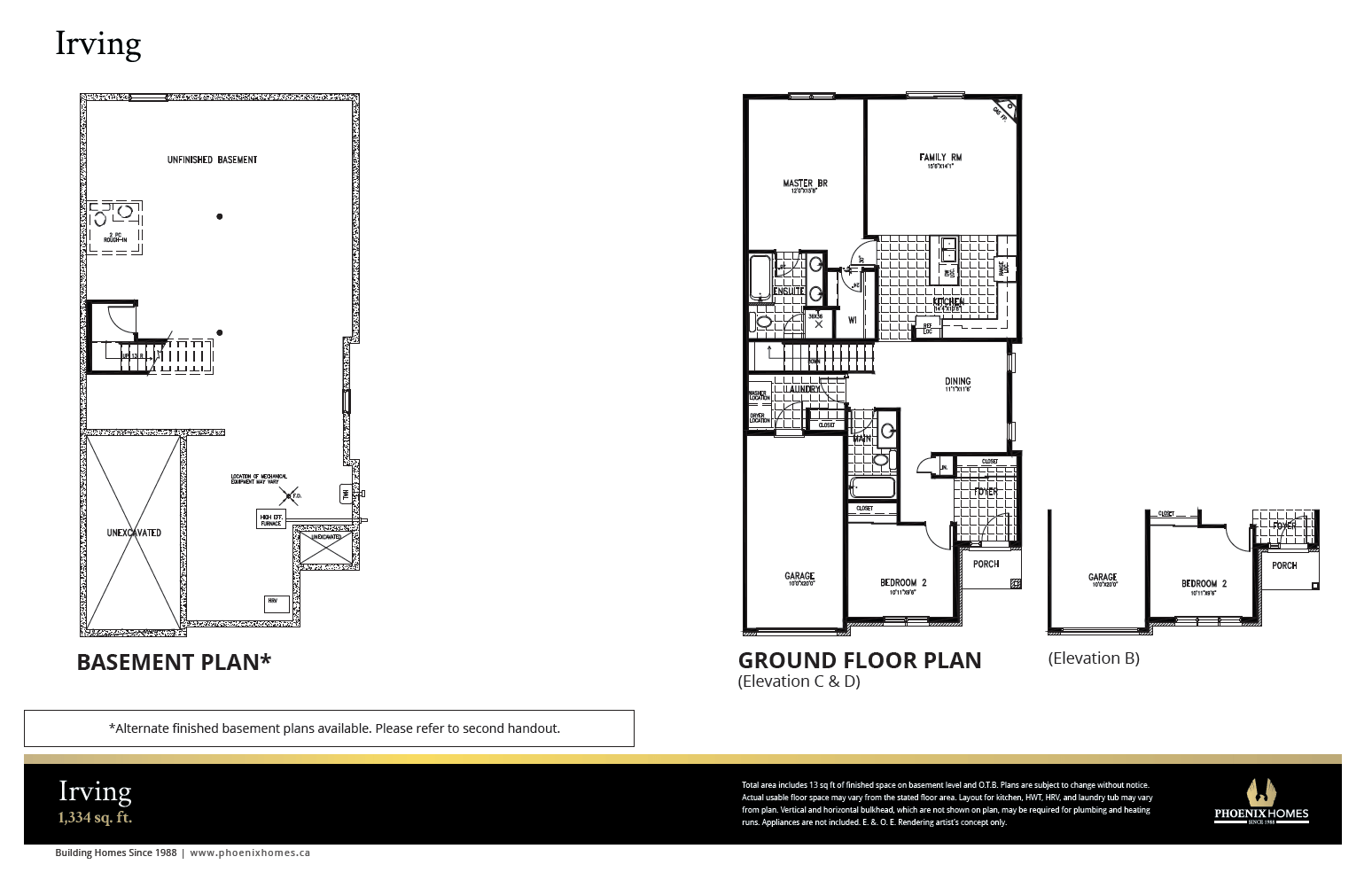 Irving Homes in Ontario