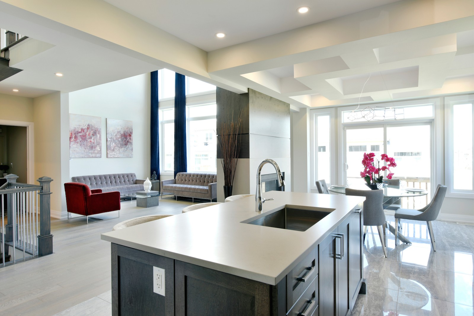 Rutherford Model Home Kitchen