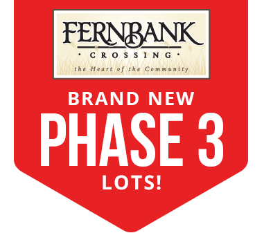 Brand New Phase 3 Lots