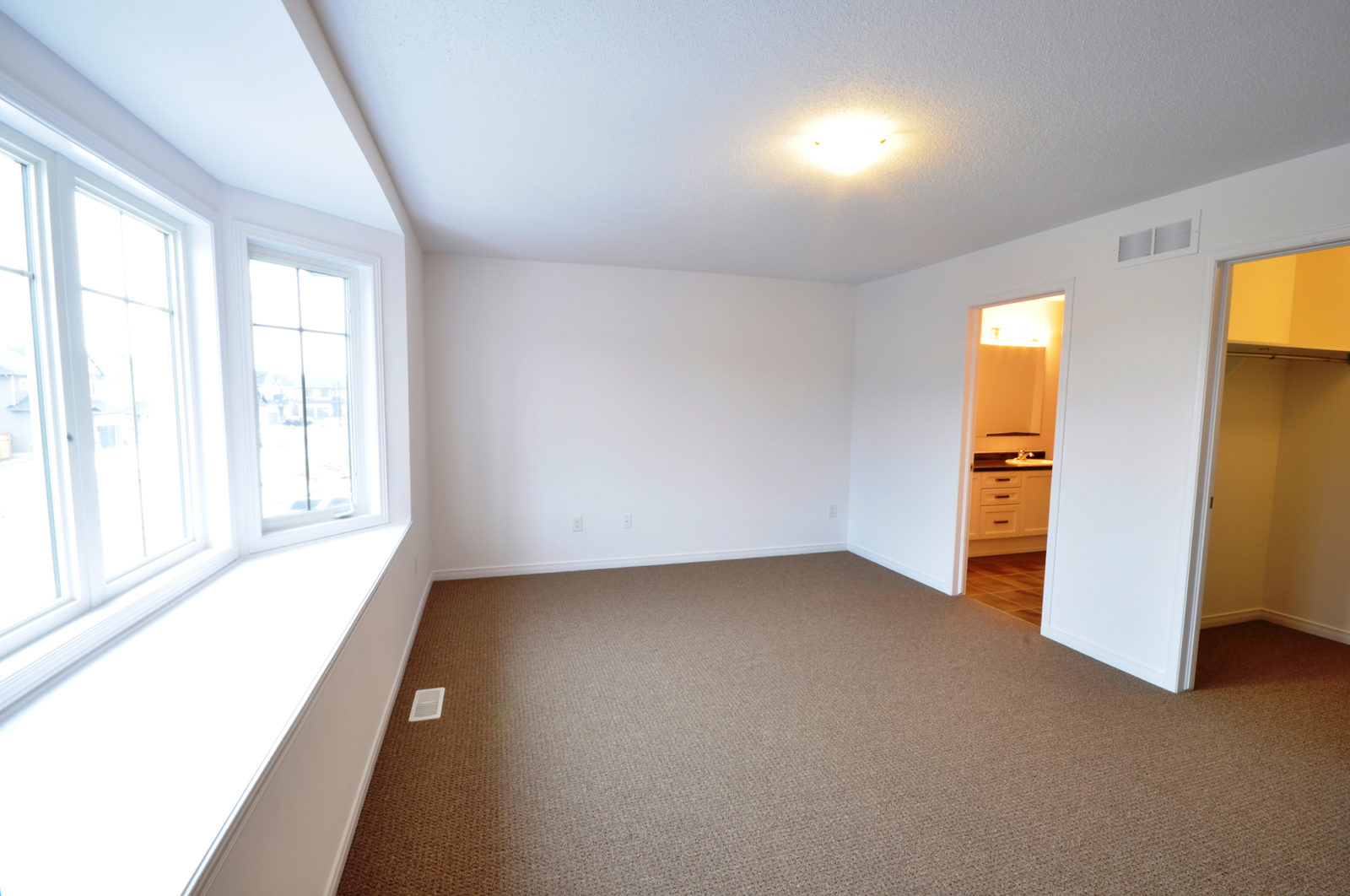 Melbourne Is Spacious Living and Dining Room