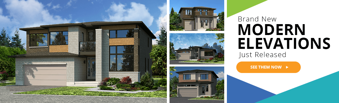 Brand New Modern Elevations