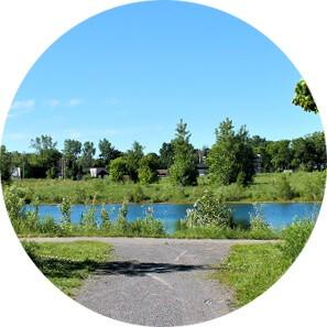 outdoor walking trail circle