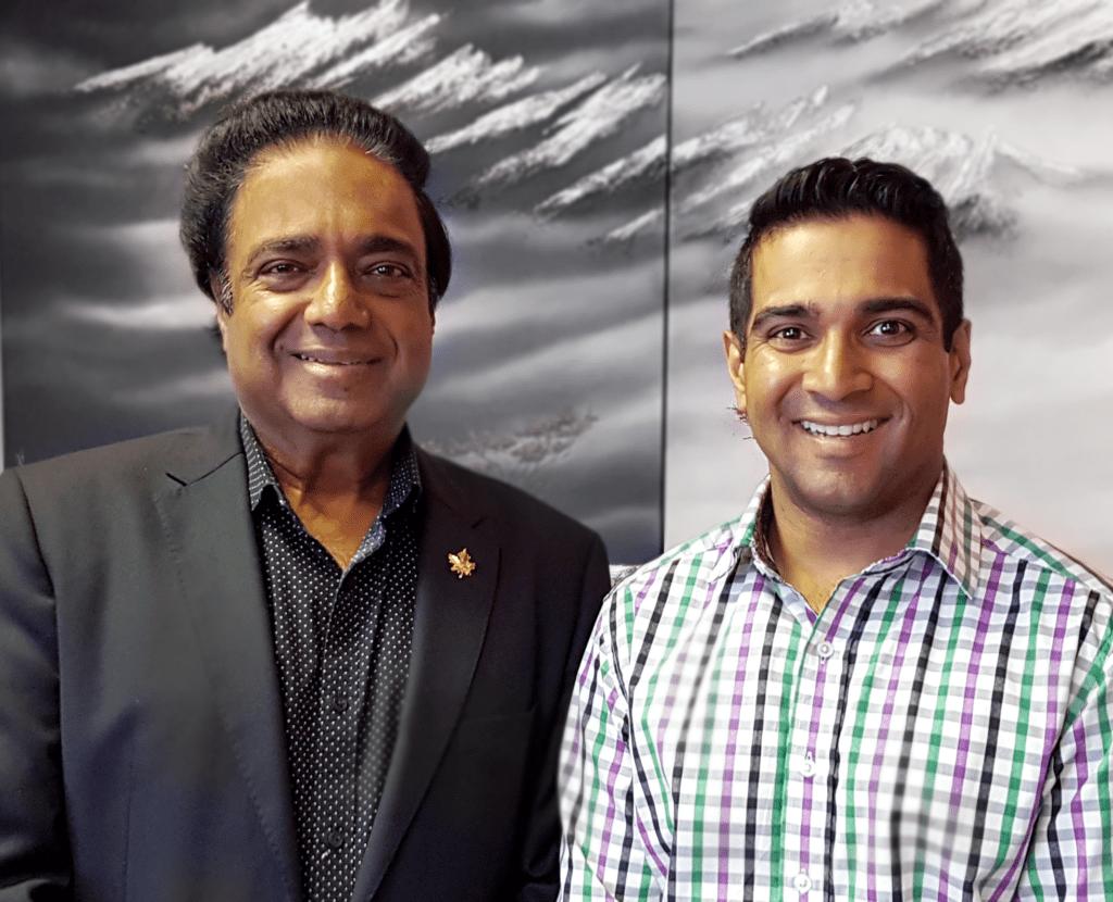 Cuckoo and Rahul Kochar President and Founder of Dcr/phoenix