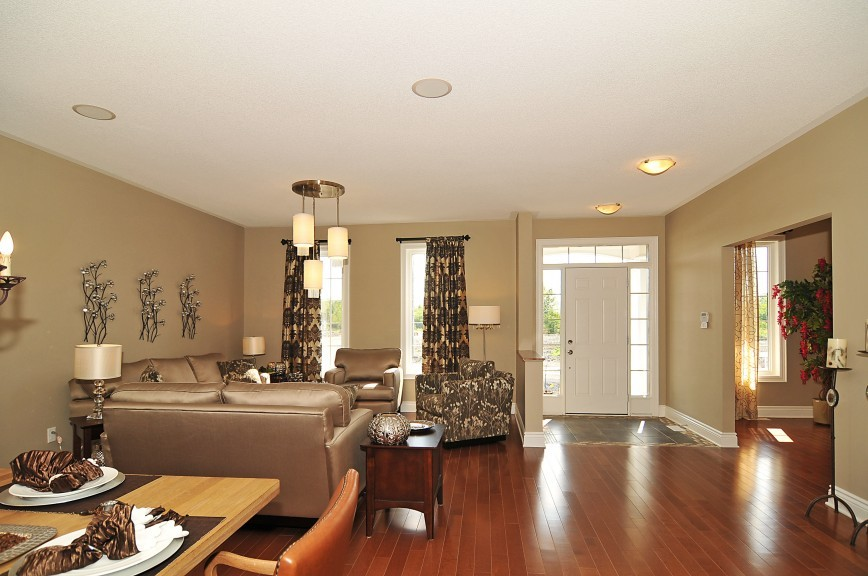 Cartesian Living and Dining Area