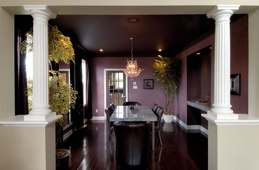 Dining room Cheasapeake by Phoenix Homes