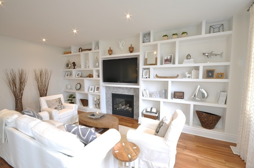 Fairmount living room by Phoenix Homes