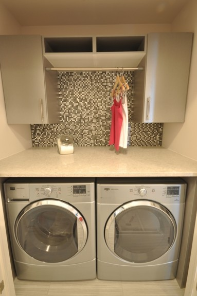 Winchester laundry area by Phoenix Homes