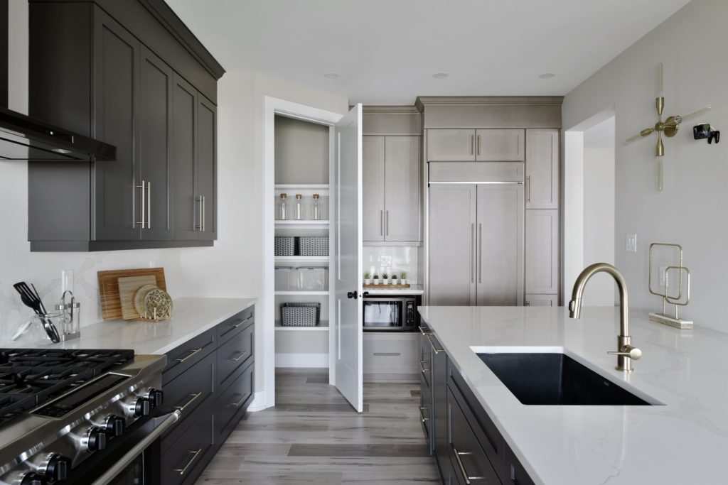 open kitchen pantry
