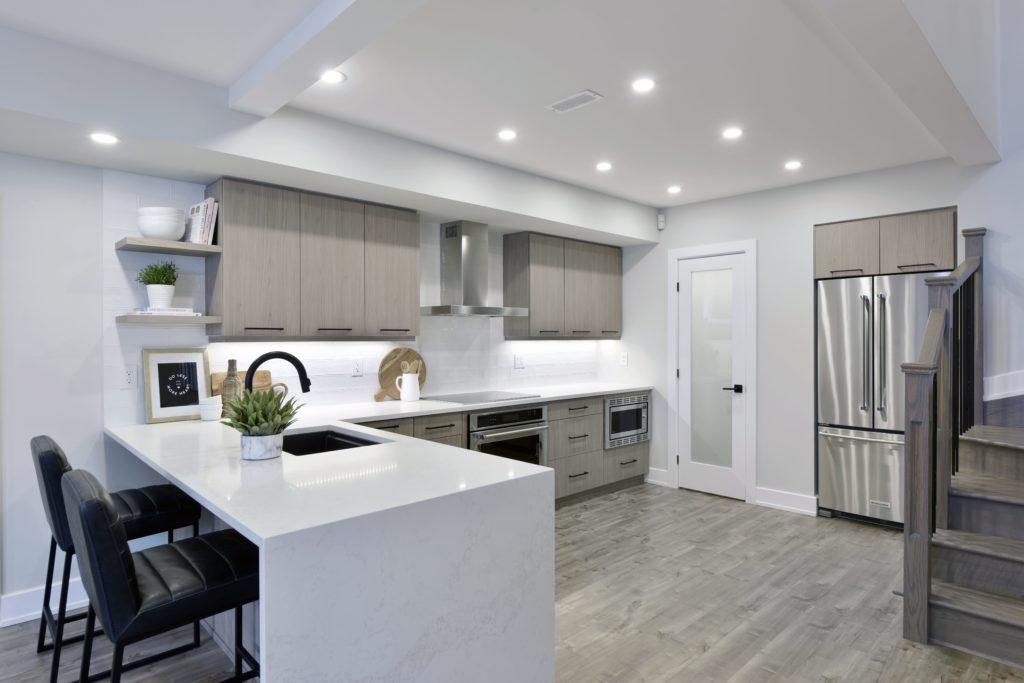 clean kitchen interior design
