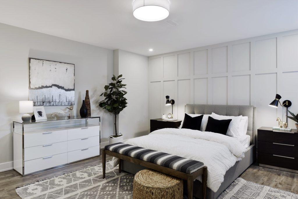 modern white bedroom design